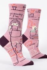 Blue Q Introverting Women's Crew Socks