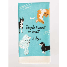 Blue Q Blue Q People To Meet: Dogs Printed Towel