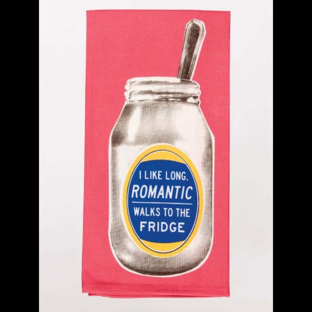 Blue Q Long Romantic Walks Dish Towel