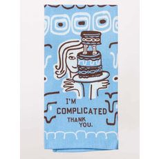 Blue Q Blue Q I'm Complicated Printed Towel