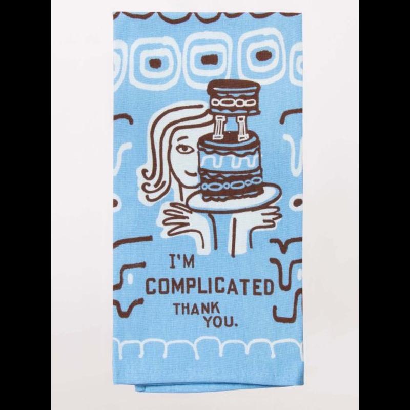 Blue Q Blue Q I'm Complicated Printed Towel