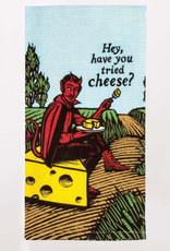 Blue Q Have You Tried Cheese Dish Towel