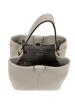 Grey Ava Convertible Shoulder Bag