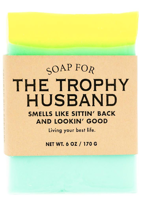 Whiskey River Soap Co. Trophy Husband Soap