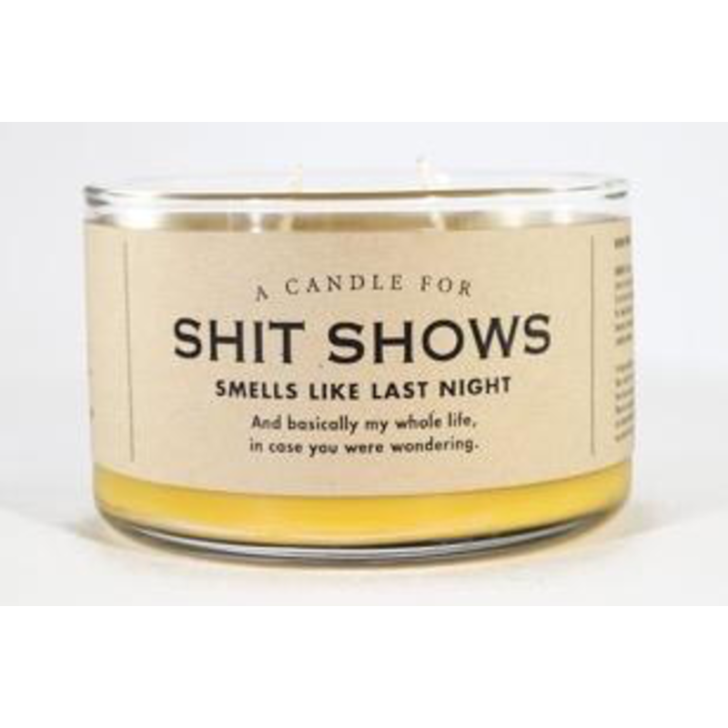 Whiskey River Soap Co. Shit Shows Candle