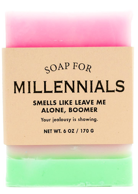 Whiskey River Soap Co. Millennials Soap