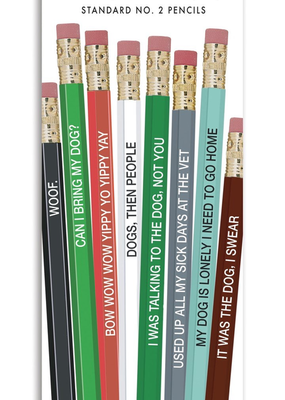 Whiskey River Soap Co. Dog People Pencils