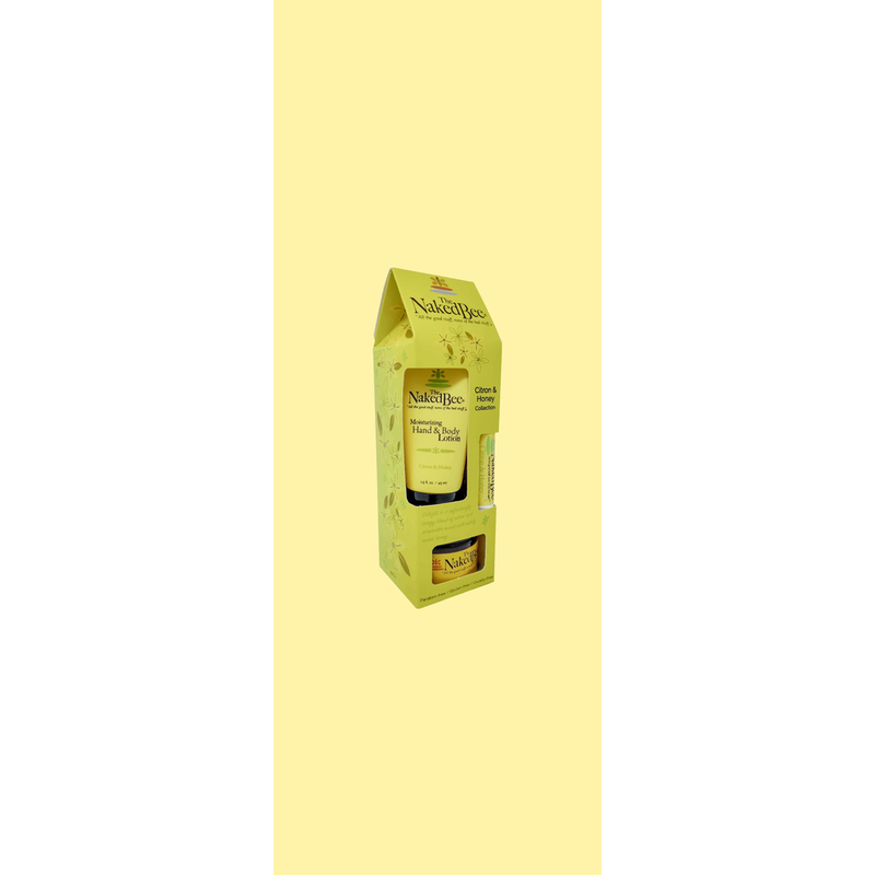 The Naked Bee Citron & Honey Gift Collection