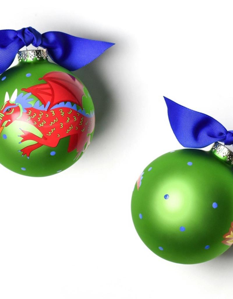 Coton Colors - Dragon Glass Ornament