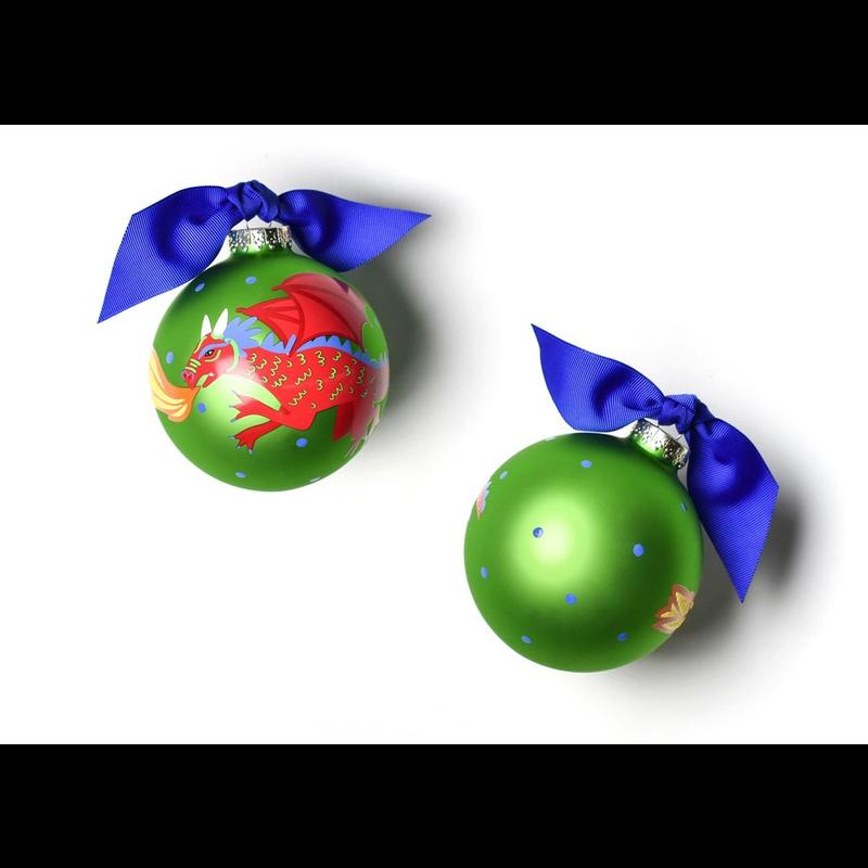 Dragon Glass Ornament