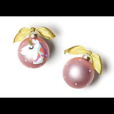 Coton Colors - Unicorn Glass Ornament
