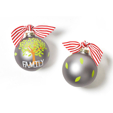 Coton Colors - Family Tree Glass Ornament