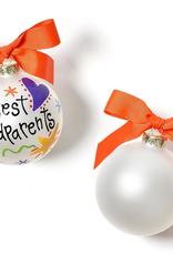 Coton Colors - Best Grandparents Ever Glass Ornament