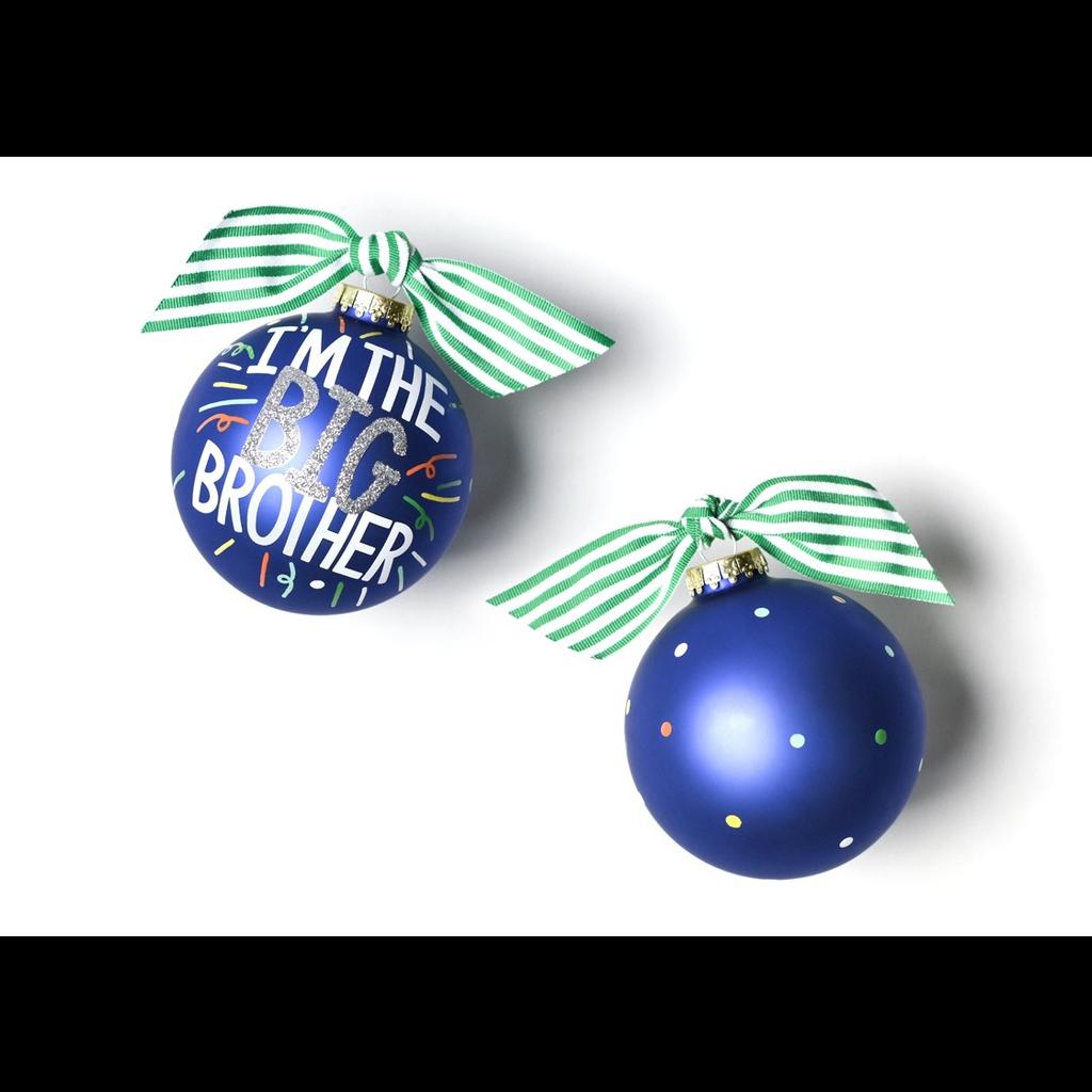 Coton Colors - Big Brother Popper Glass Ornament