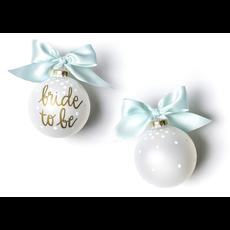 Coton Colors - Bride To Be Glass Ornament