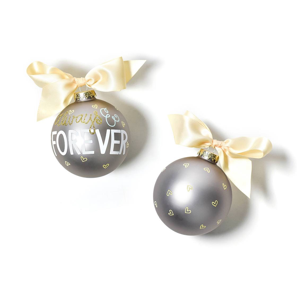 Coton Colors - Always and Forever Glass Ornament