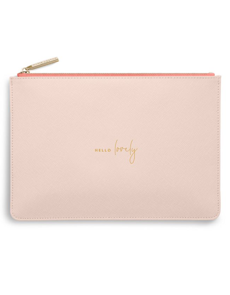 Katie Loxton Colour Pop Perfect Pouch - Hello Lovely - Pale Pink
