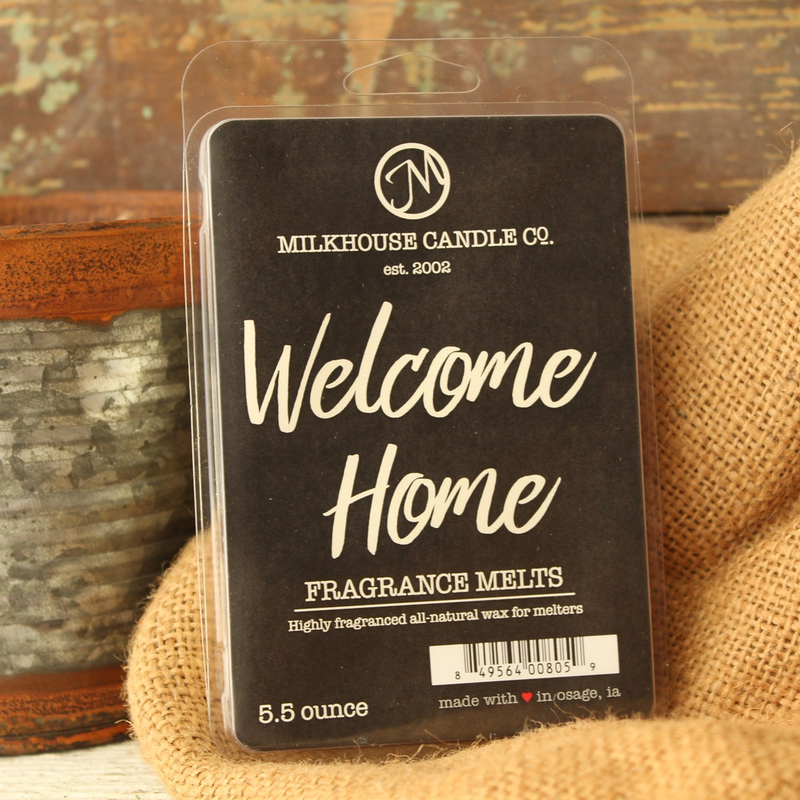 Milkhouse Candle Creamery Welcome Home 5.5 oz Fragrance Melt