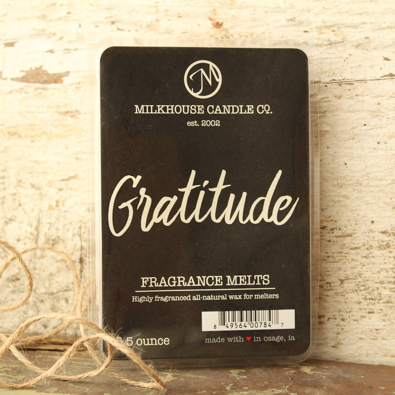 Milkhouse Candle Creamery Gratitude 5.5 oz Fragrance Melt