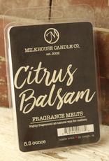 Milkhouse Candle Creamery Milkhouse Candle Creamery 5.5 oz Fragrance Melt: Citrus Balsam