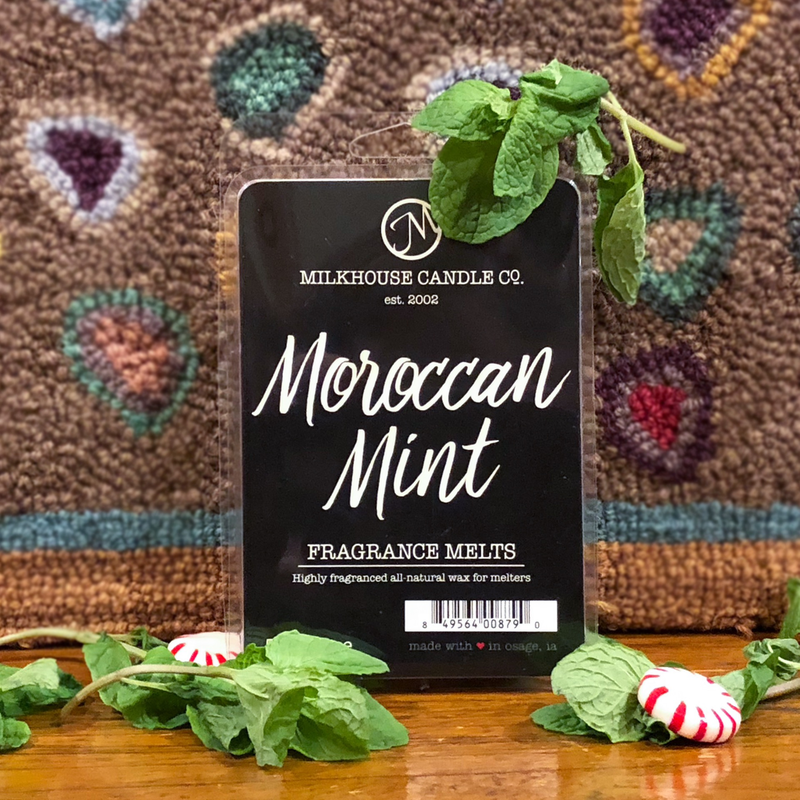 Milkhouse Candle Creamery Moroccan Mint 5.5 oz Fragrance Melt