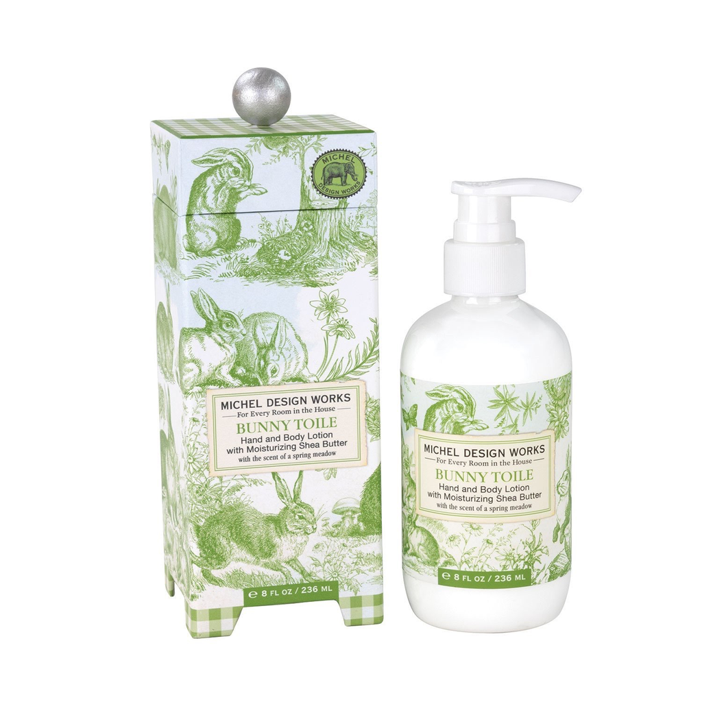 Michel Design Works Michel Design Works Hand and Body Lotion - Bunny Toile