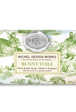 Michel Design Works - Bunny Toile Large Bath Soap