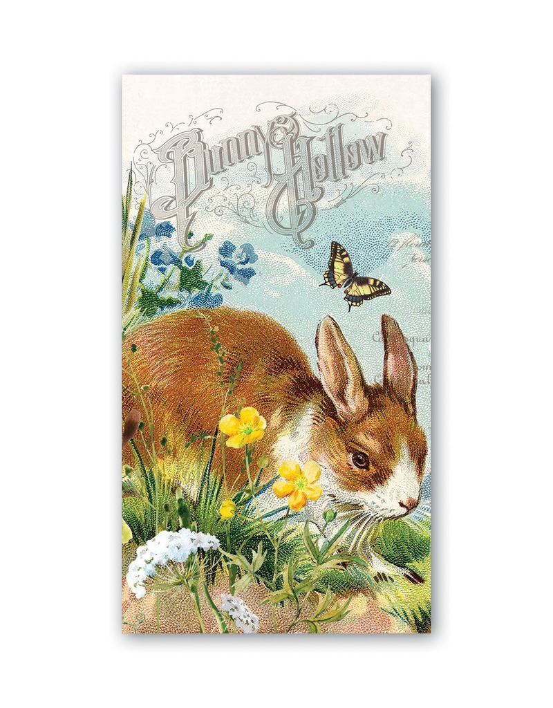 Michel Design Works - Bunny Hollow Hostess Napkins