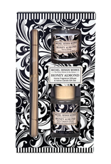 Michel Design Works - Home Fragrance Diffuser & Candle Gift Set/Honey Almond