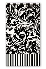 Michel Design Works  - Black Florentine Hostess Napkin