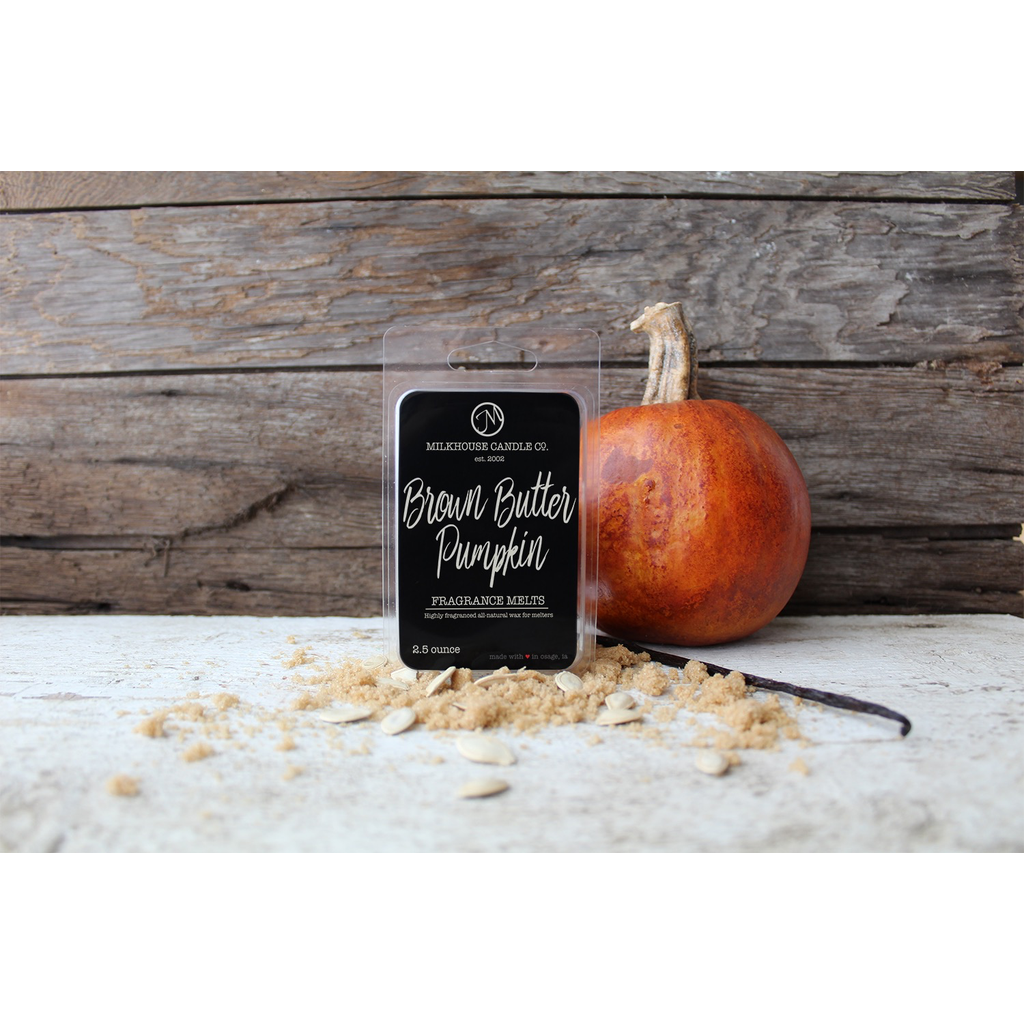 Milkhouse Candle Creamery Milkhouse Candle Creamery 5.5 oz Fragrance Melt:  Brown Butter Pumpkin