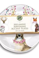 Michel Design Works - Garden Party Melamine Accent Plate Set