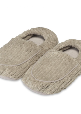 Warmies@ Spa Therapy Slippers Warm Gray