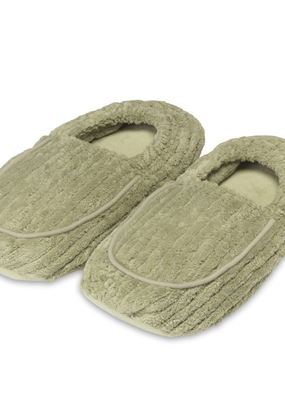 Warmies@ Spa Therapy Slippers Green