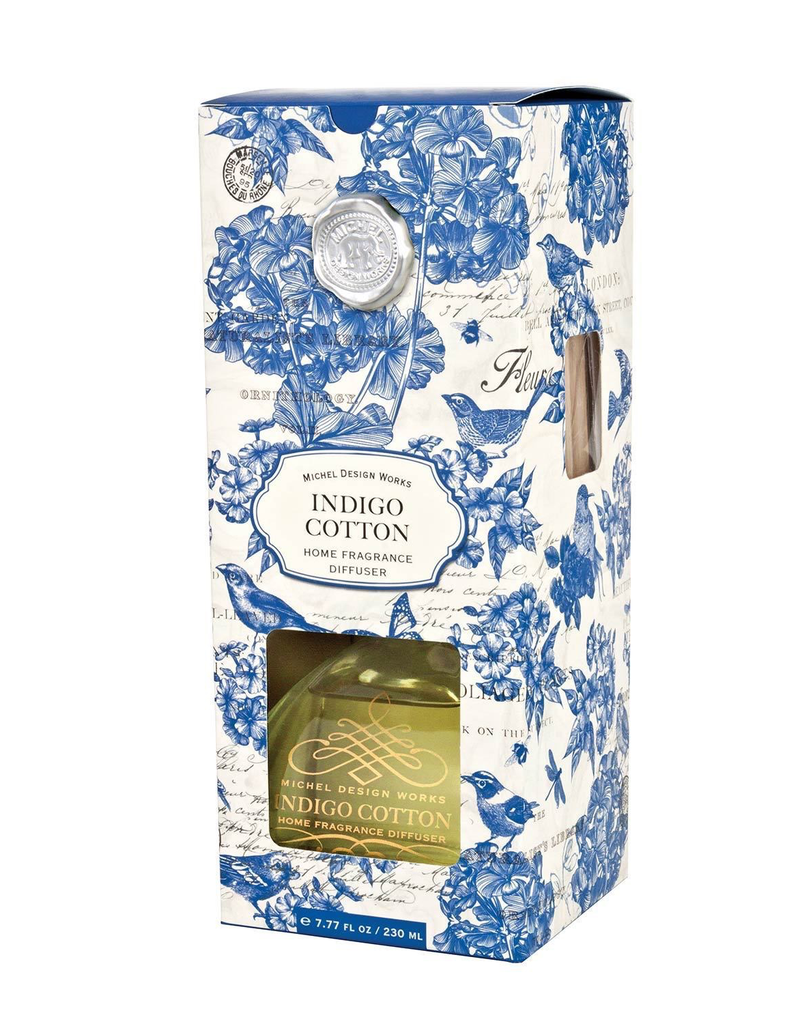 Michel Design Works - Indigo Cotton Home Fragrance Diffuser
