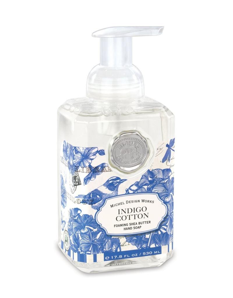 Michel Design Works - Indigo Cotton Foaming Soap