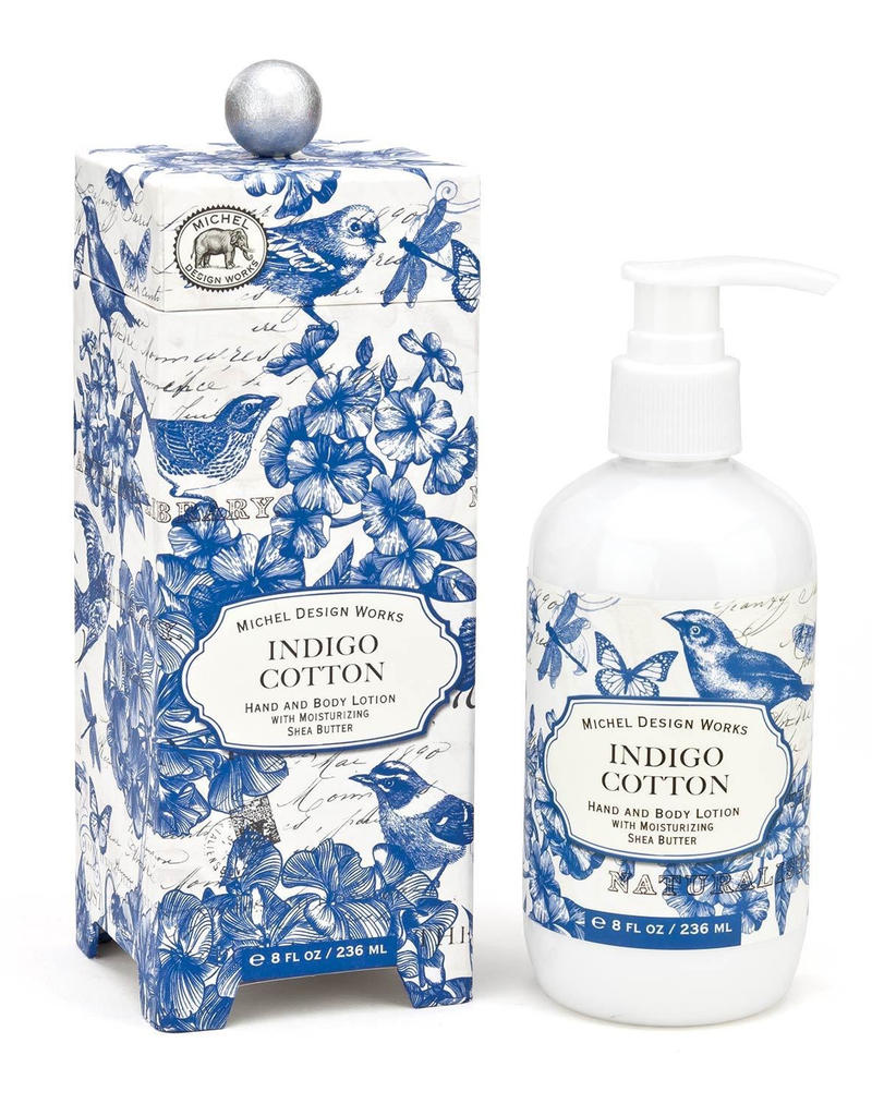 Michel Design Works - Indigo Cotton Hand and Body Lotion