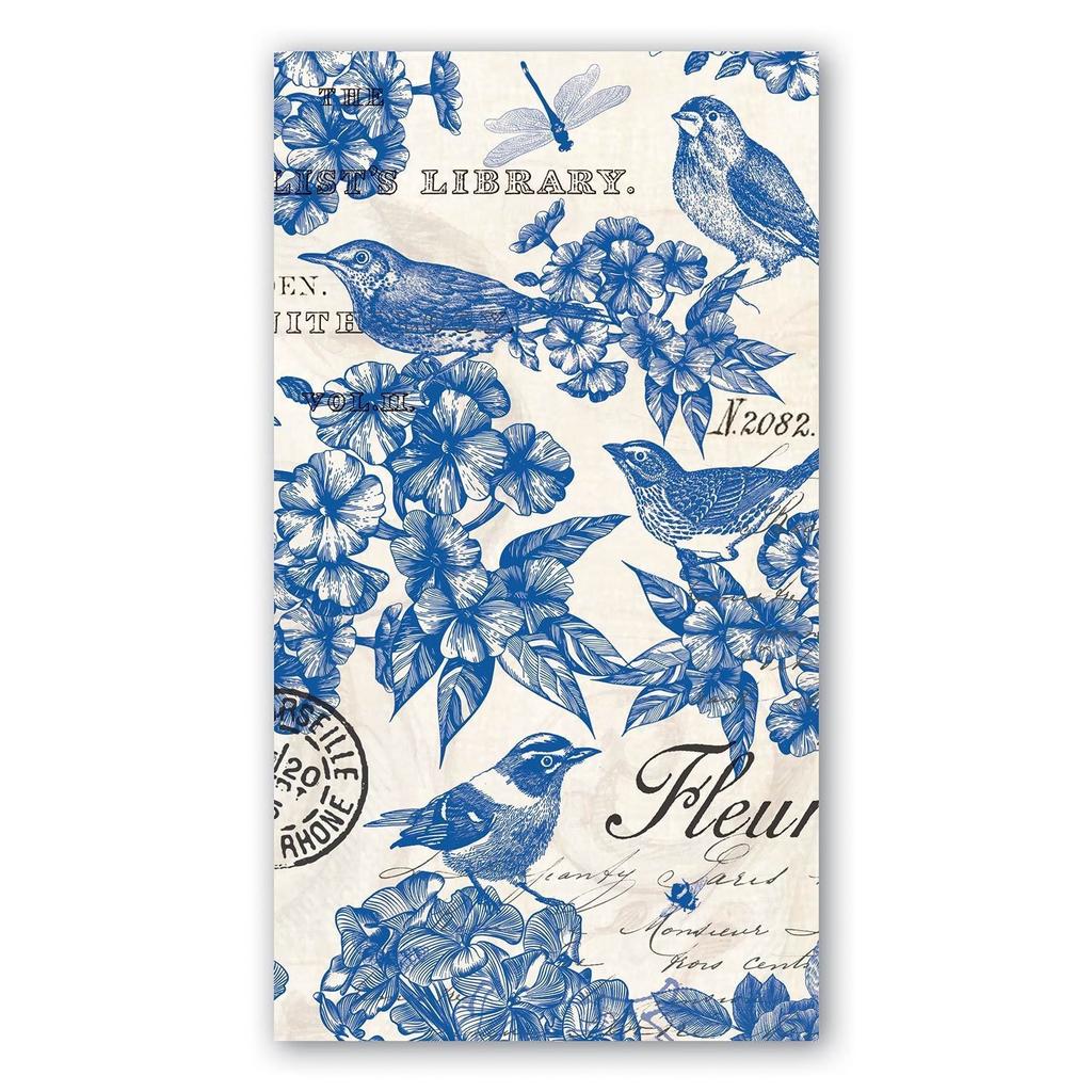 Michel Design Works - Indigo Cotton Hostess Napkin