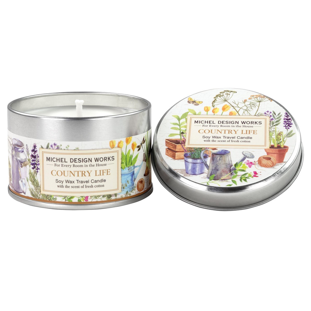 Michel Design Works Michel Design Works Travel Candle - Country Life