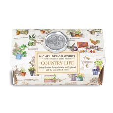 Michel Design Works Michel Design Works Large Bath Soap  - Country Life