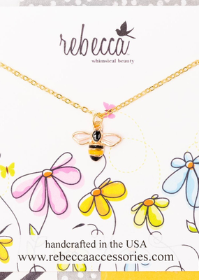 Rebecca Bumble Bee Necklace