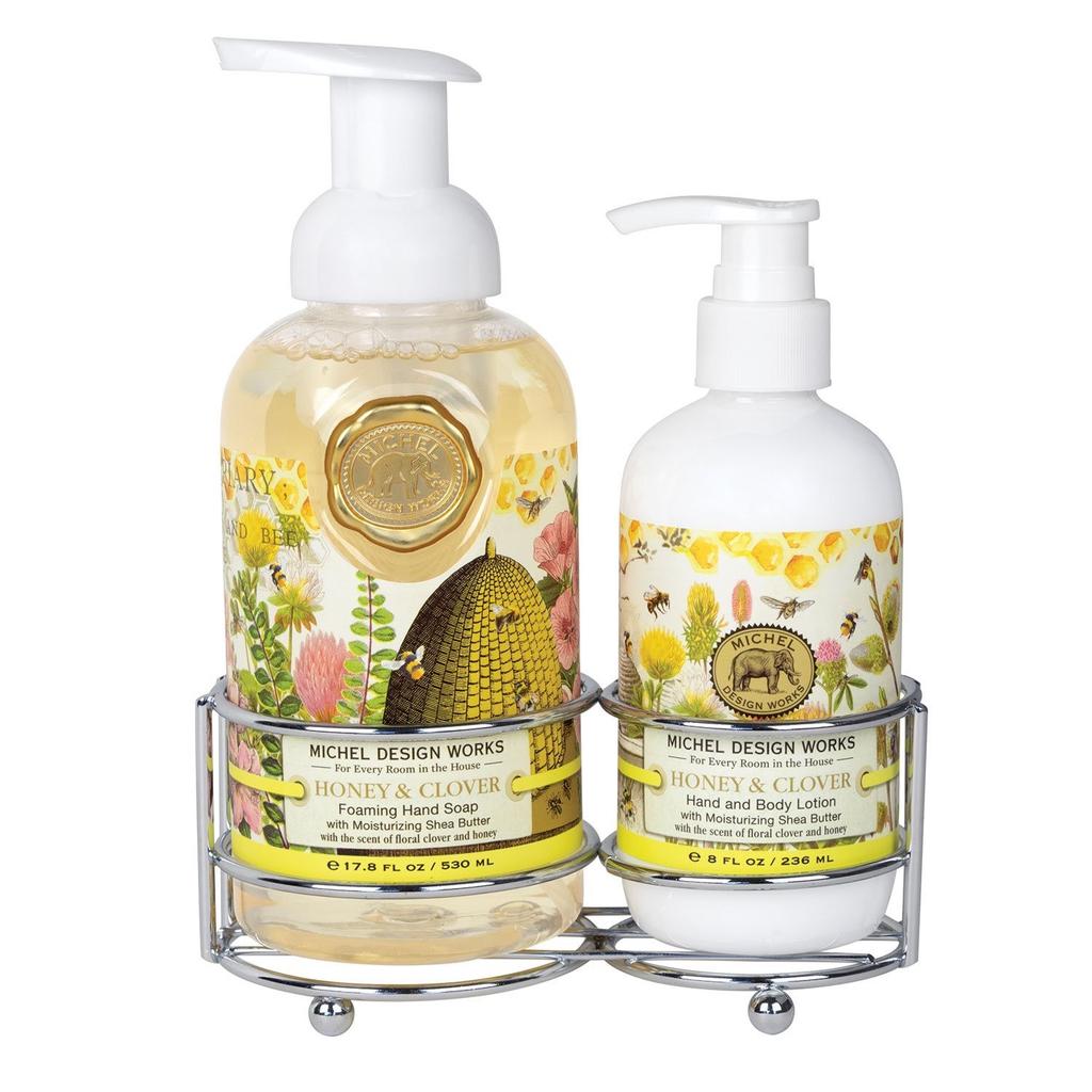 Michel Design Works - Honey & Clover Handcare Caddy