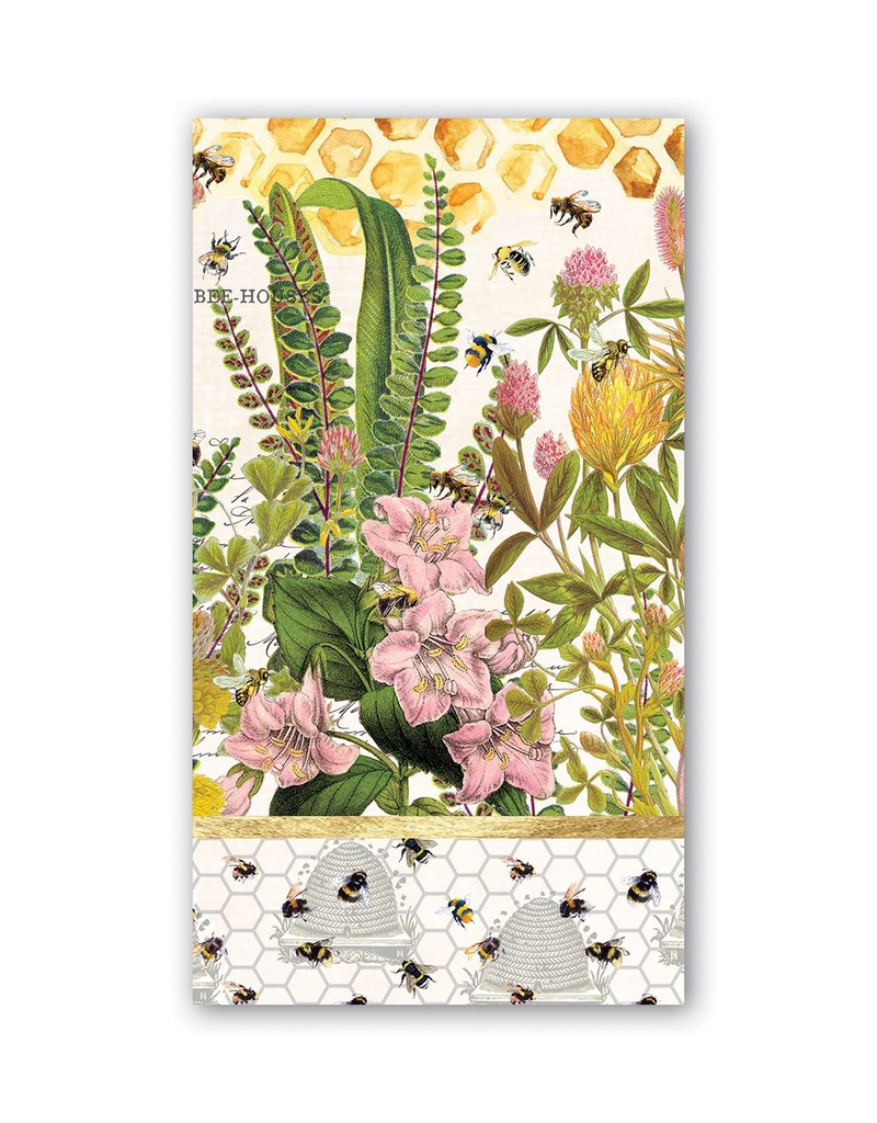 Michel Design Works - Honey & Clover Hostess Napkins