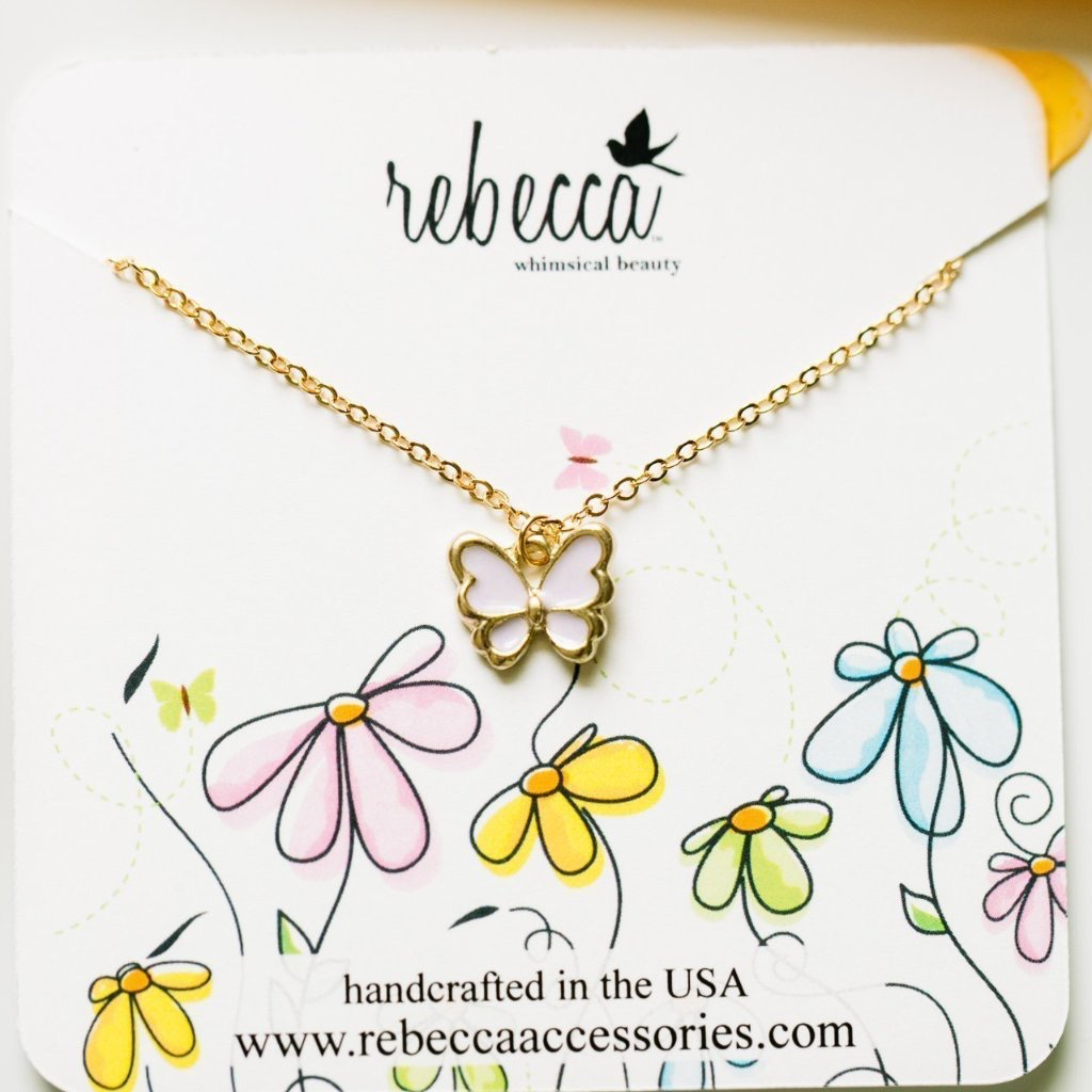 Rebecca Butterfly Necklace