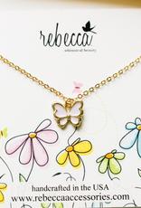 Rebecca Butterfly Necklace