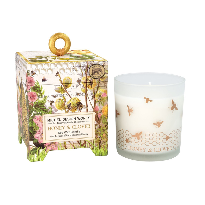 Michel Design Works Soy Wax Candle - Honey & Clover