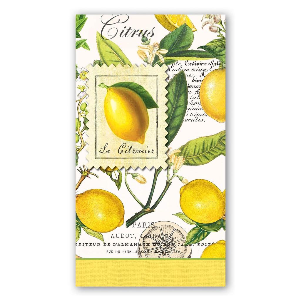 Michel Design Works Michel Design Works Hostess Napkins - Lemon Basil