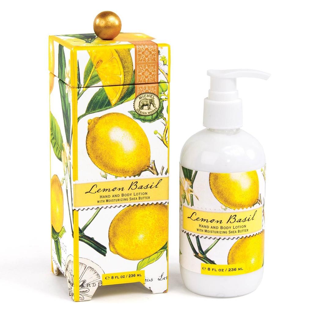 Michel Design Works Michel Design Works Hand & Body Lotion  - Lemon Basil