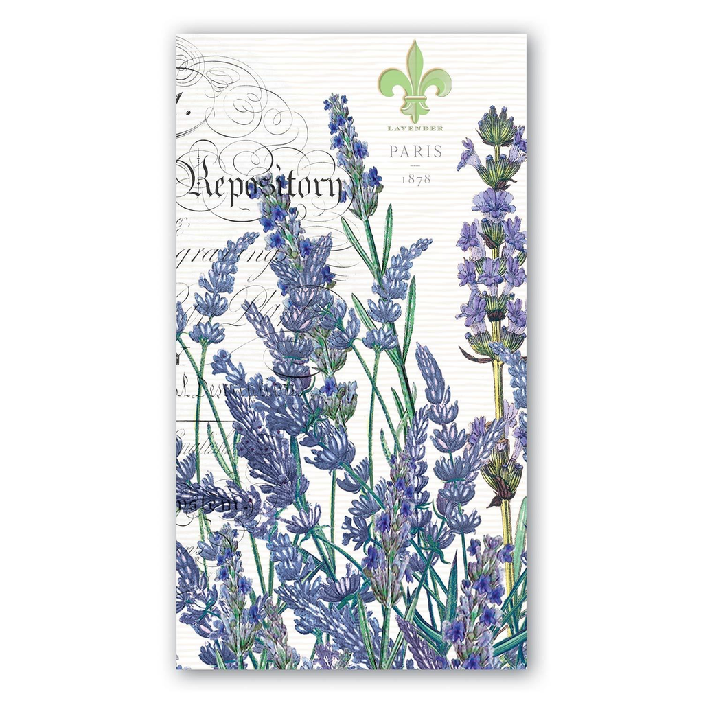 Michel Design Works Michel Design Works Hostess Napkins - Lavender Rosemary