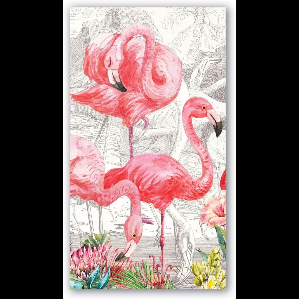 Michel Design Works - Flamingo Paper Hostess Napkins
